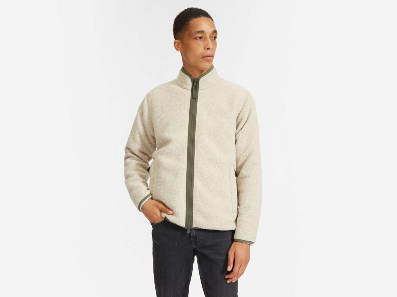 Everlane The ReNew Reversible Fleece Jacket