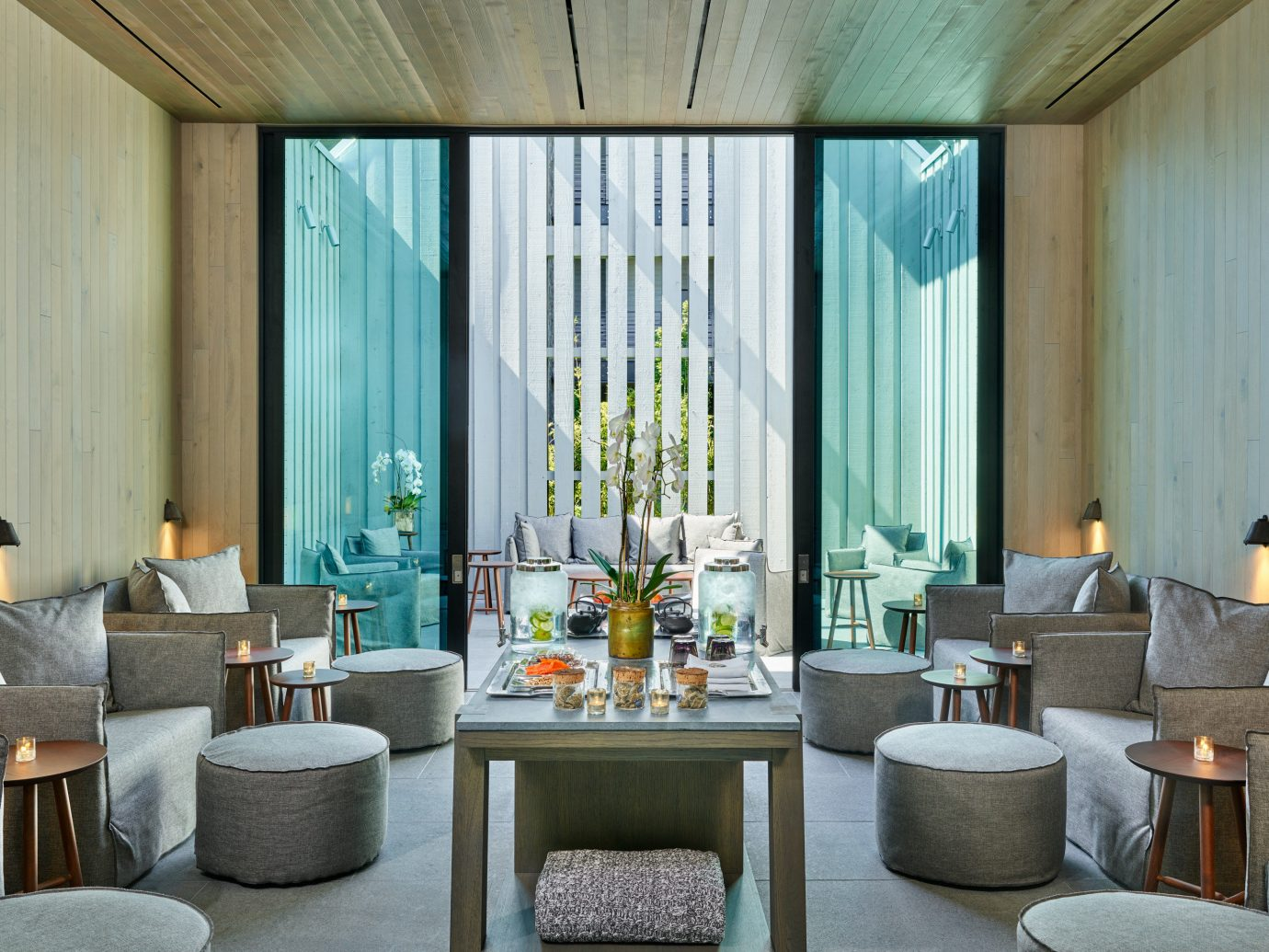 Living room at Las Alcobas, A Luxury Collection Hotel, Napa Valley