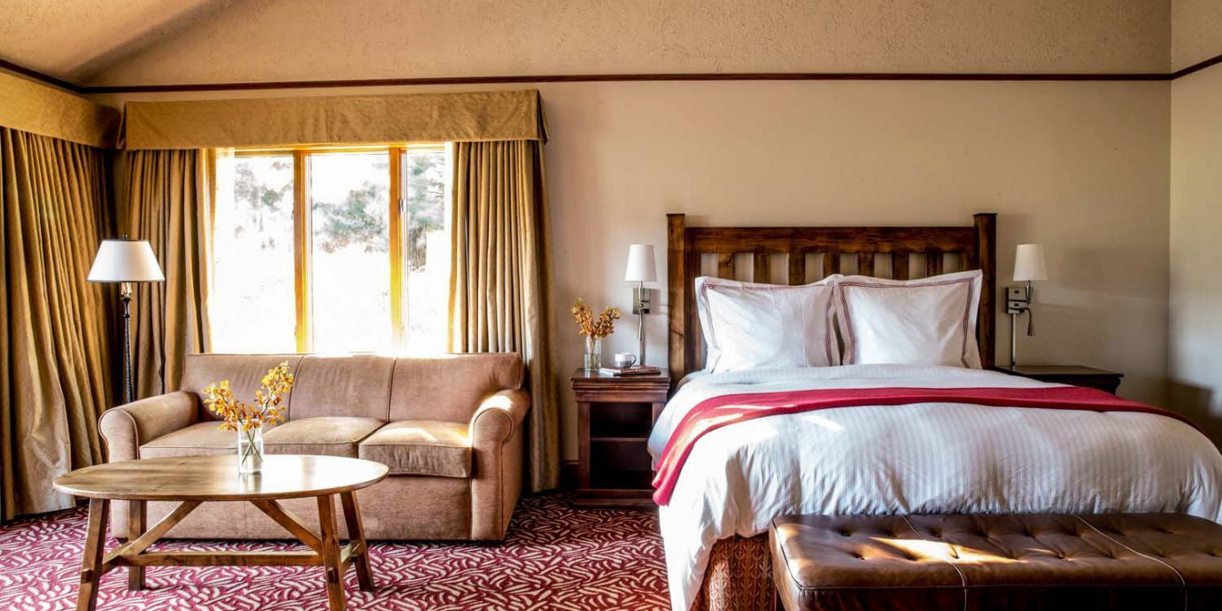 Bedroom at Harvest Inn by Charlie Palmer