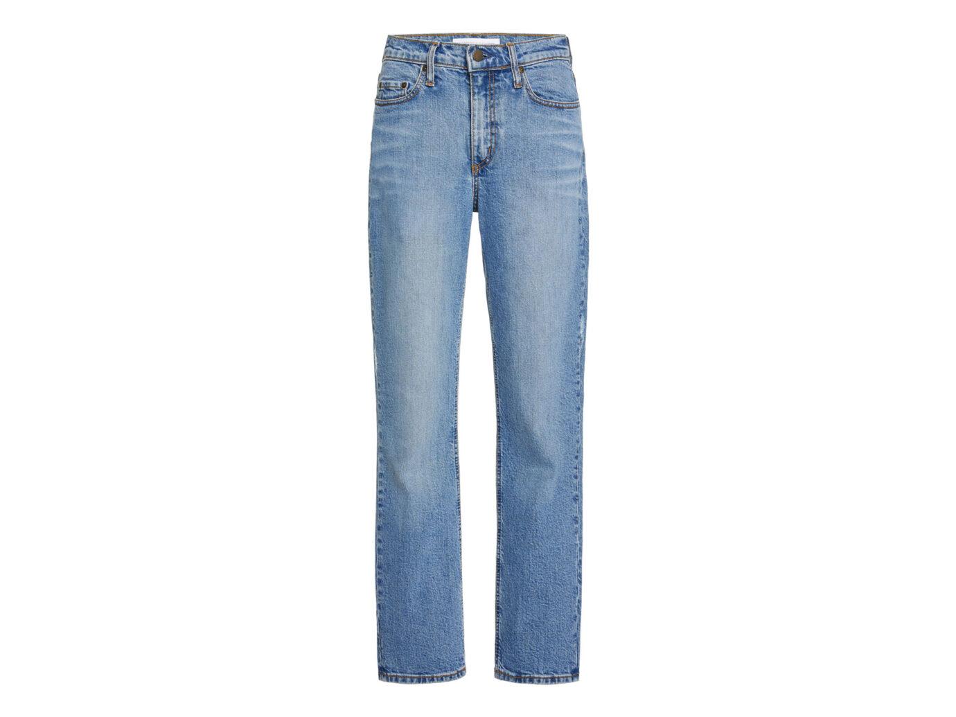 Nobody Denim True Cropped High-Rise Slim-Leg Jeans