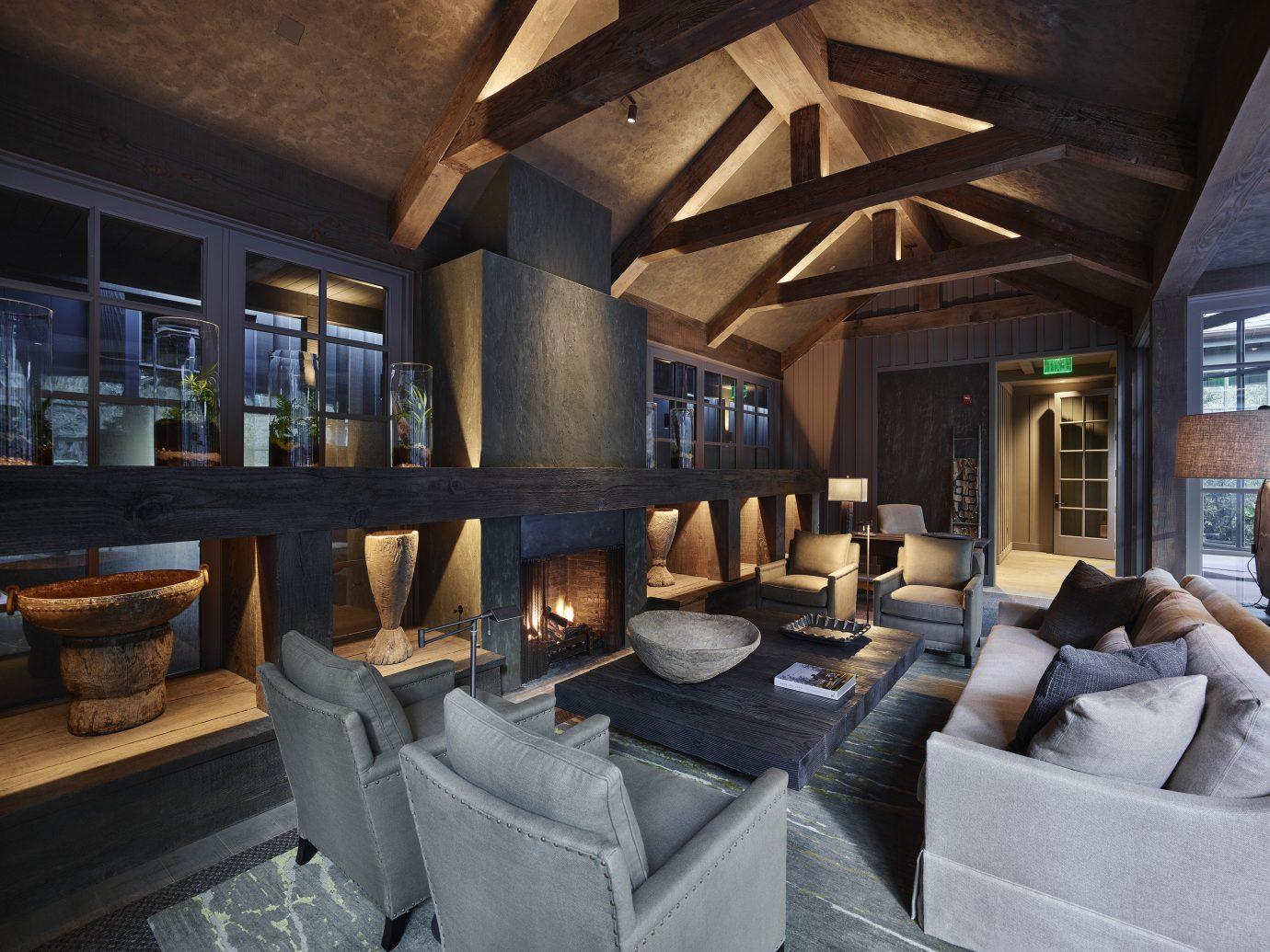 Living room at Meadowood Napa Valley