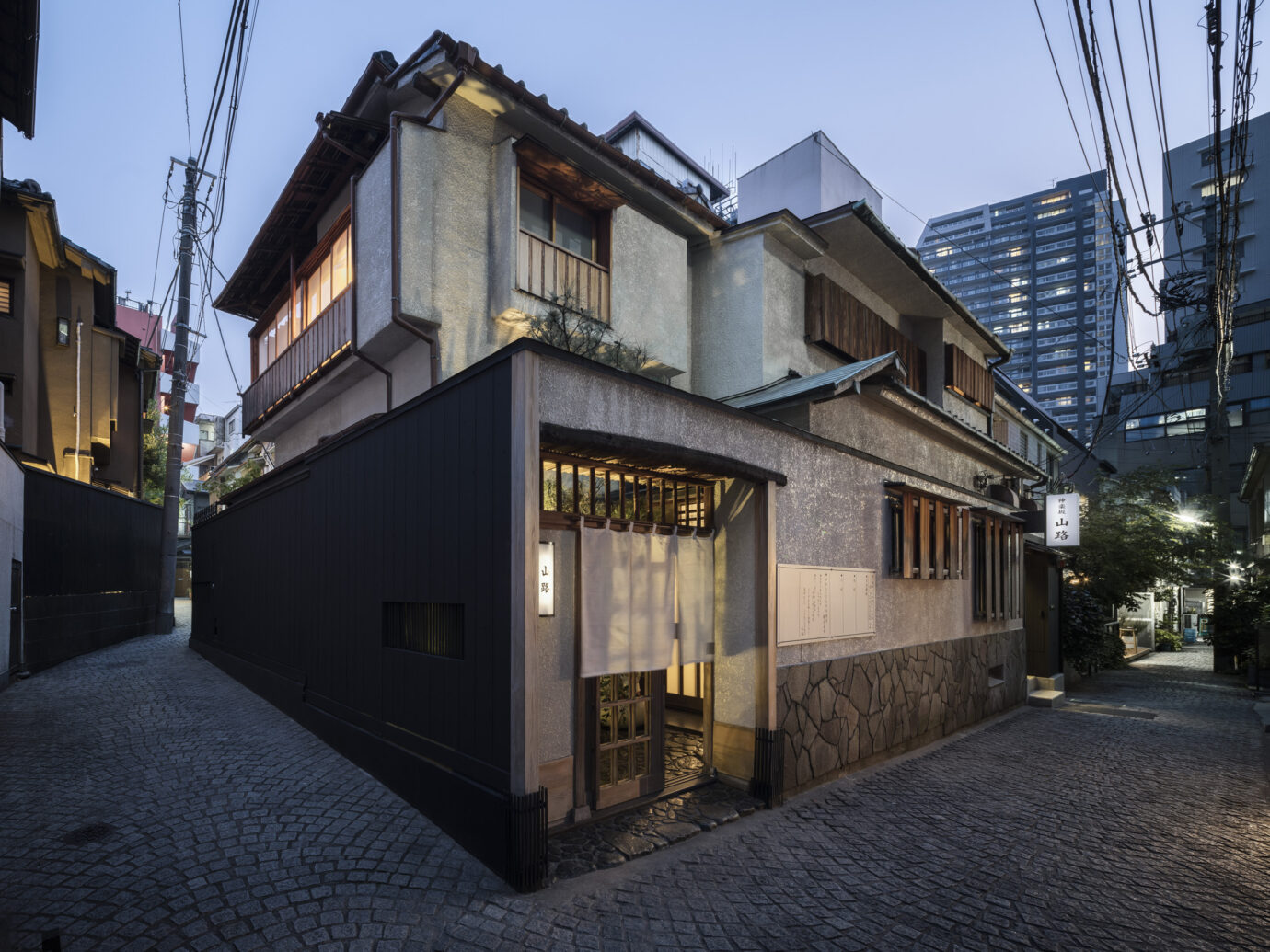 Exterior of Trunk House in Tokyo