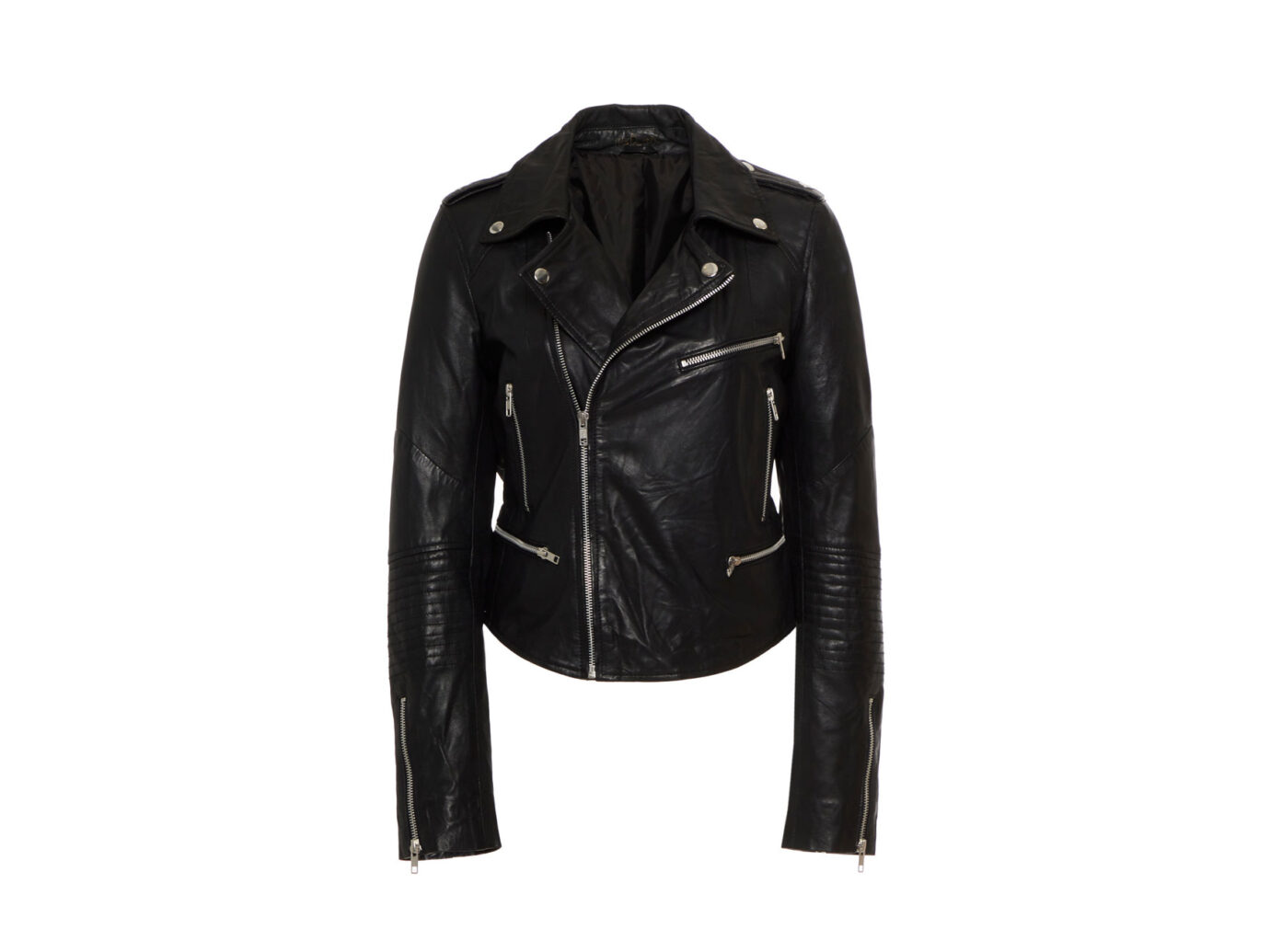 Mes Demoiselles Bikeuse Leather Jacket