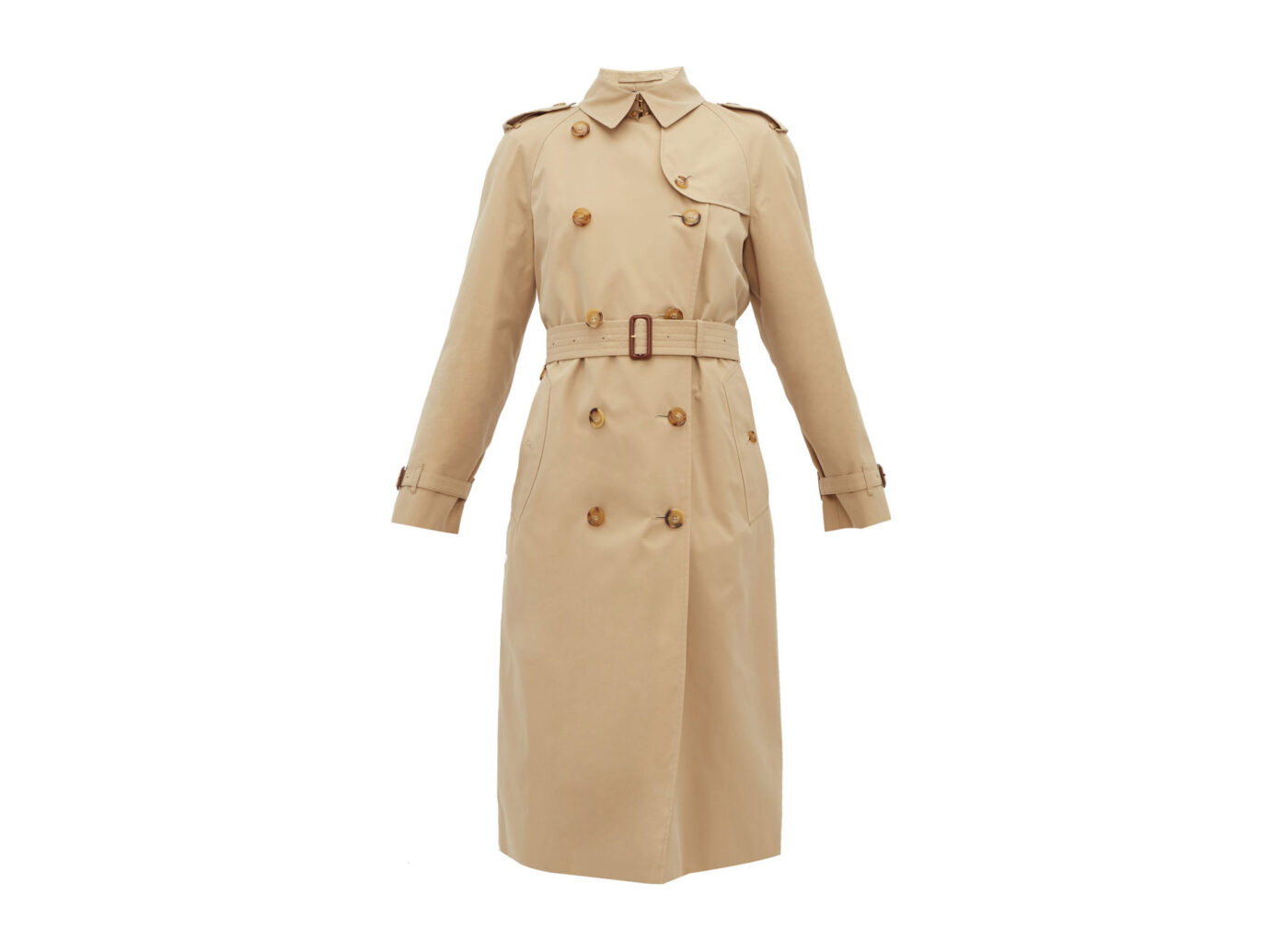 Burberry Waterloo cotton-gabardine trench coat