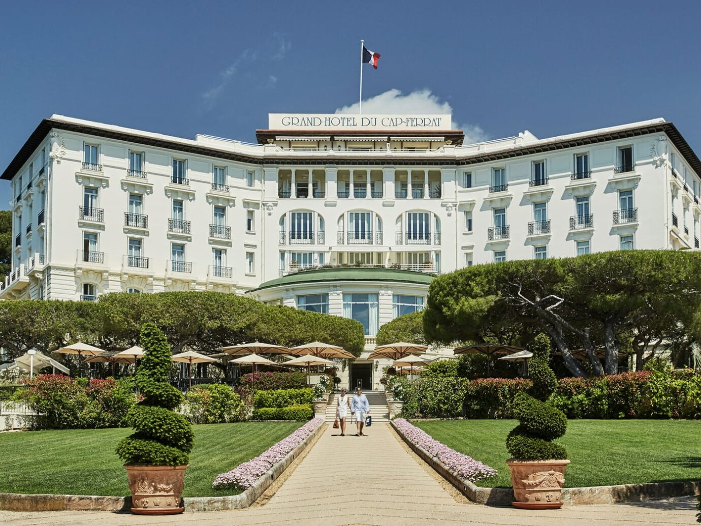 Exterior of Grand-Hôtel du Cap-Ferrat in Nice
