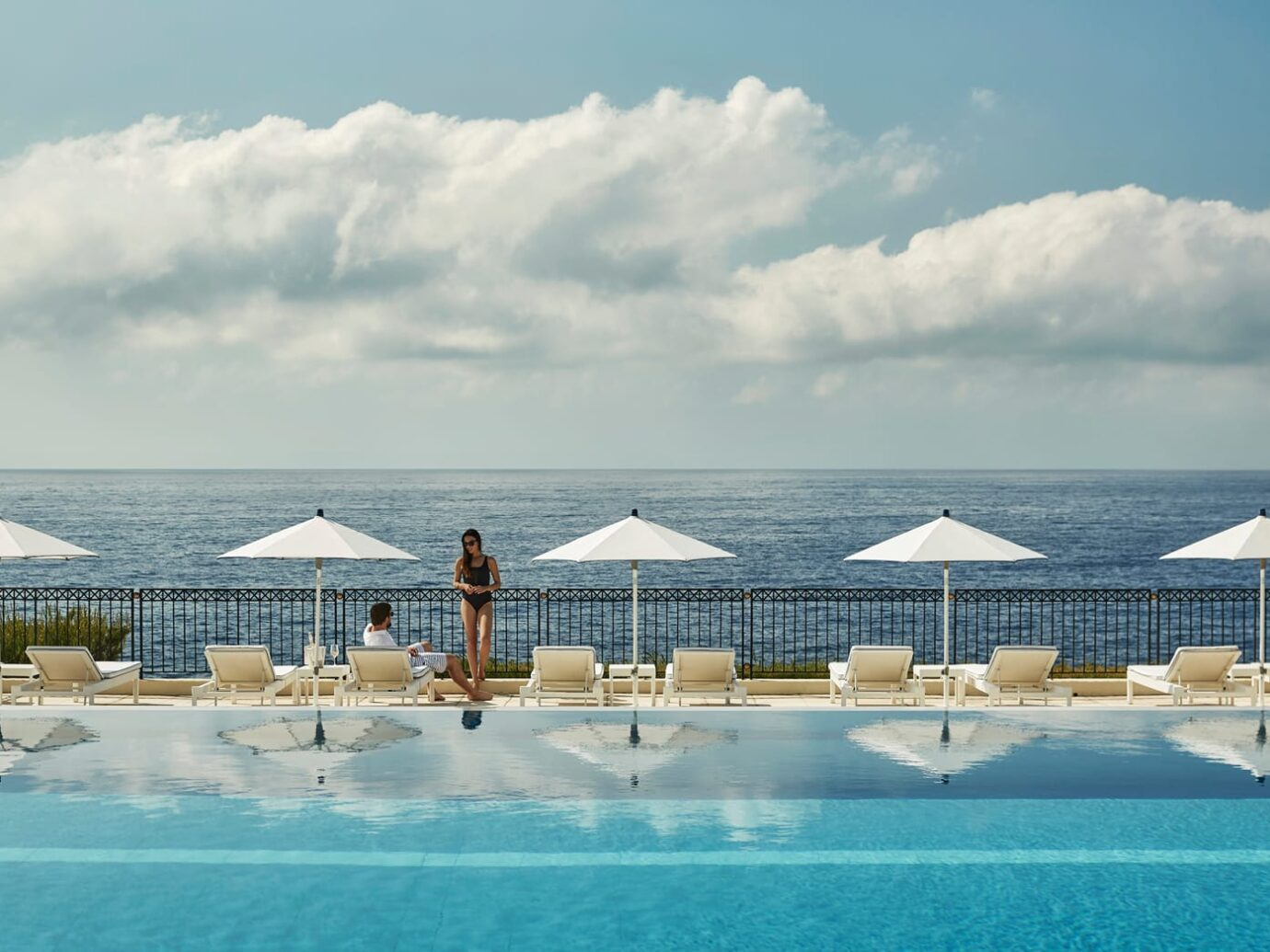 Pool at Grand-Hôtel du Cap-Ferrat