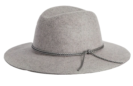 Wide Brim Wool Fedora by The Gap