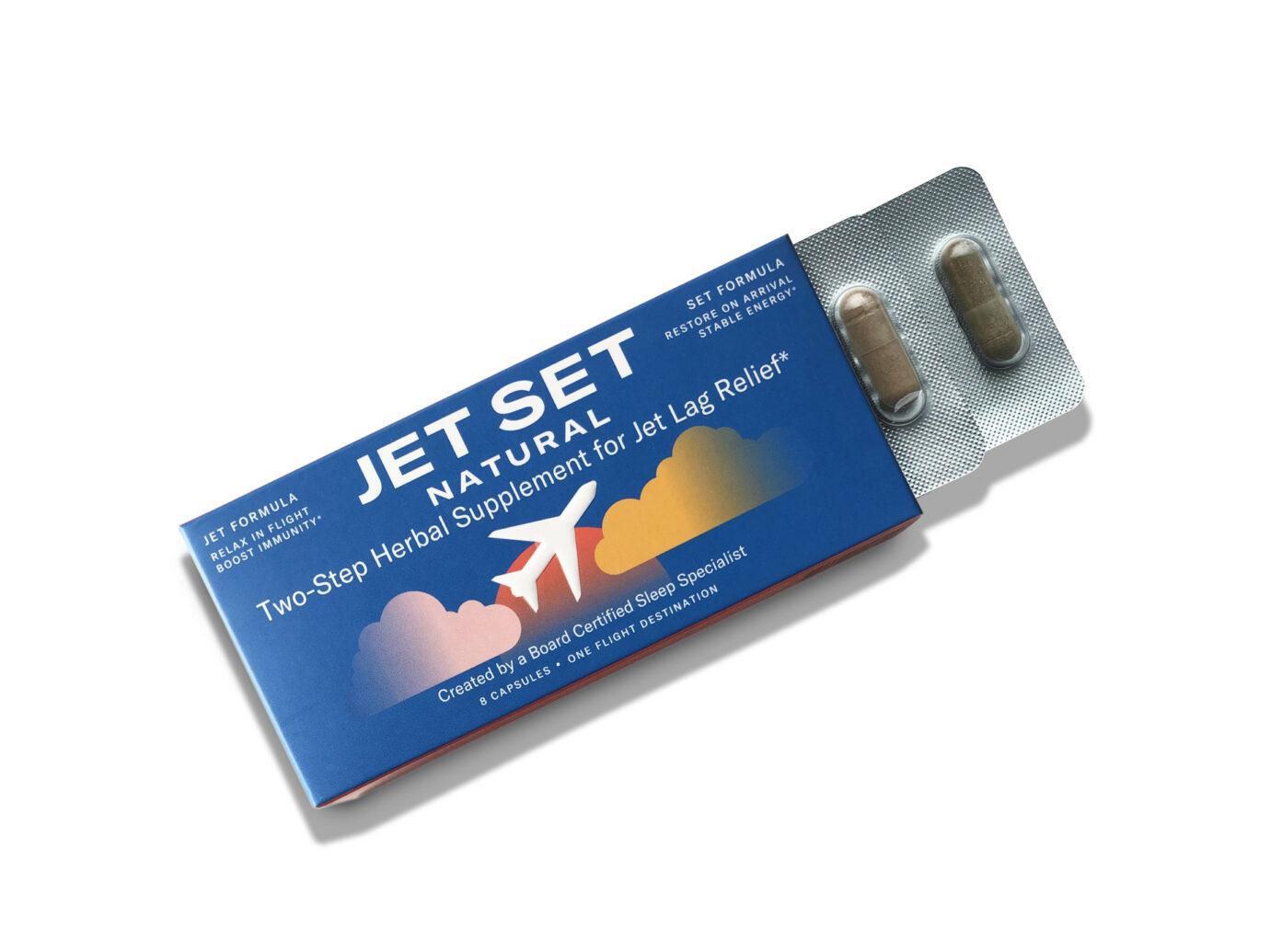 Jet Set natural jet-lag remedy