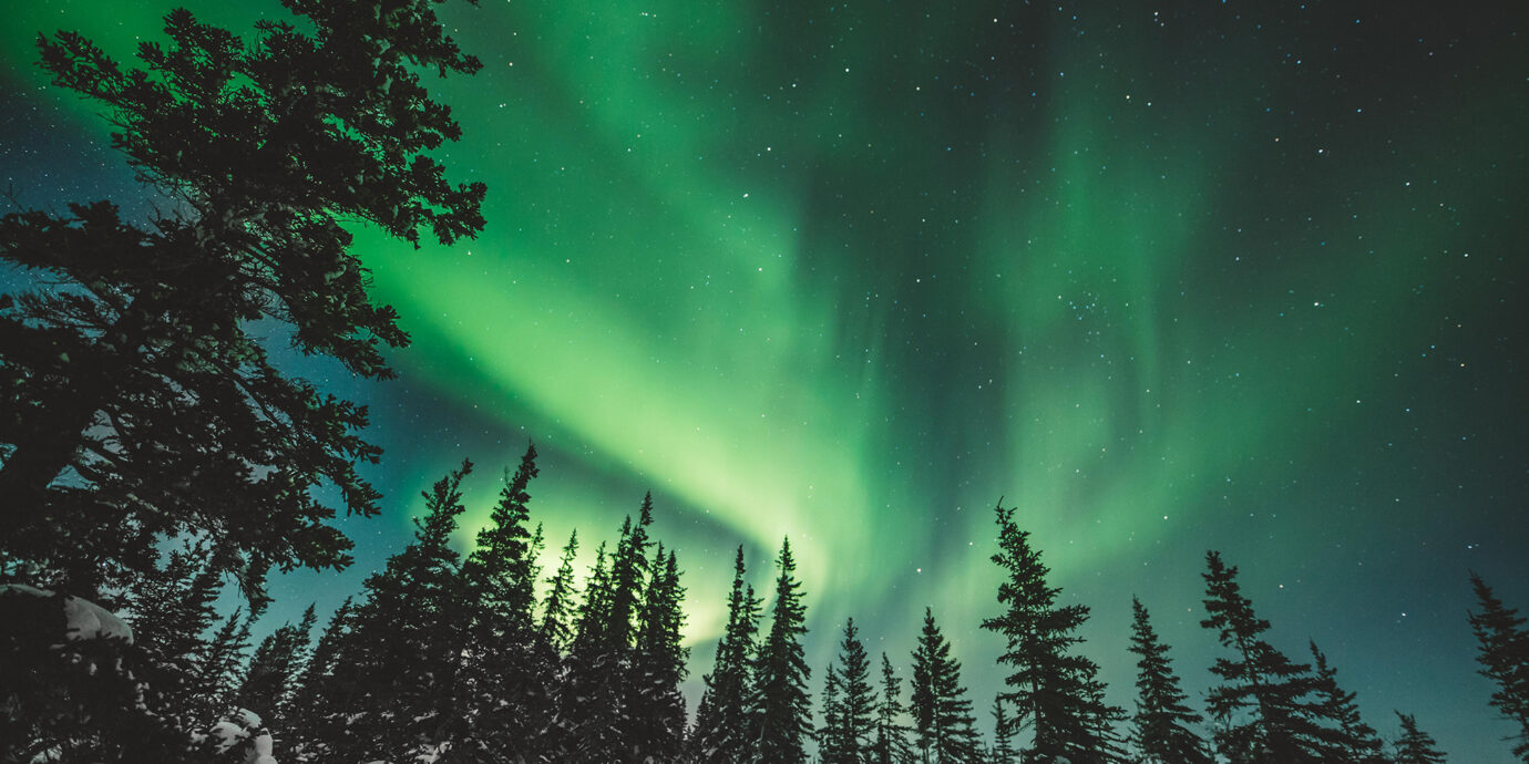 Northern Lights in Manitoba Canada