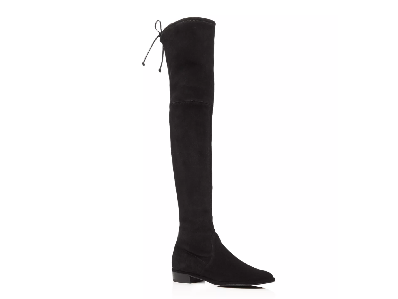 Stuart Weitzman Lowland Stretch Suede Over-the-Knee Boots