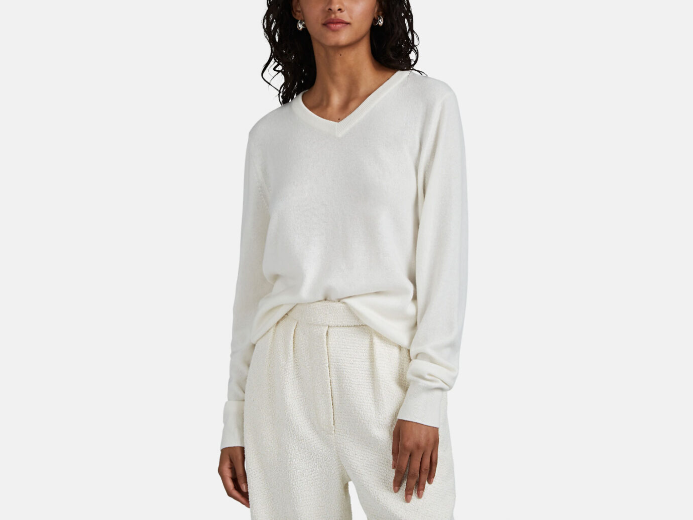 The Row Maley Cashmere Sweater