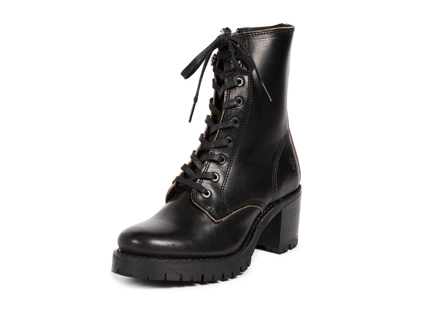 Frye Sabrina Combat Heeled Boot