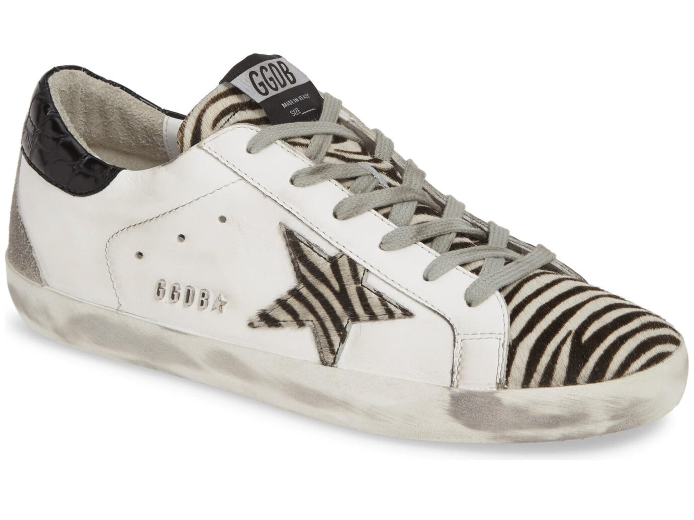 Golden Goose Superstar Calf Hair Sneakers