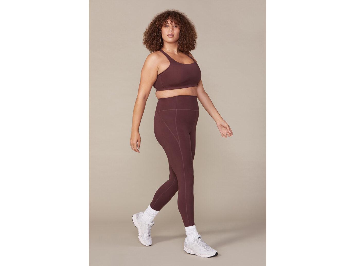 Girlfriend Collective Cocoa Compressive High-Rise Legging