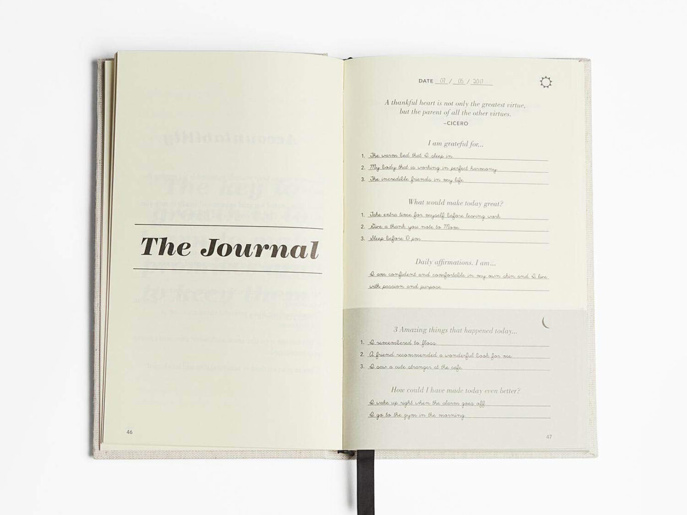 The Five Minute Guided Journal