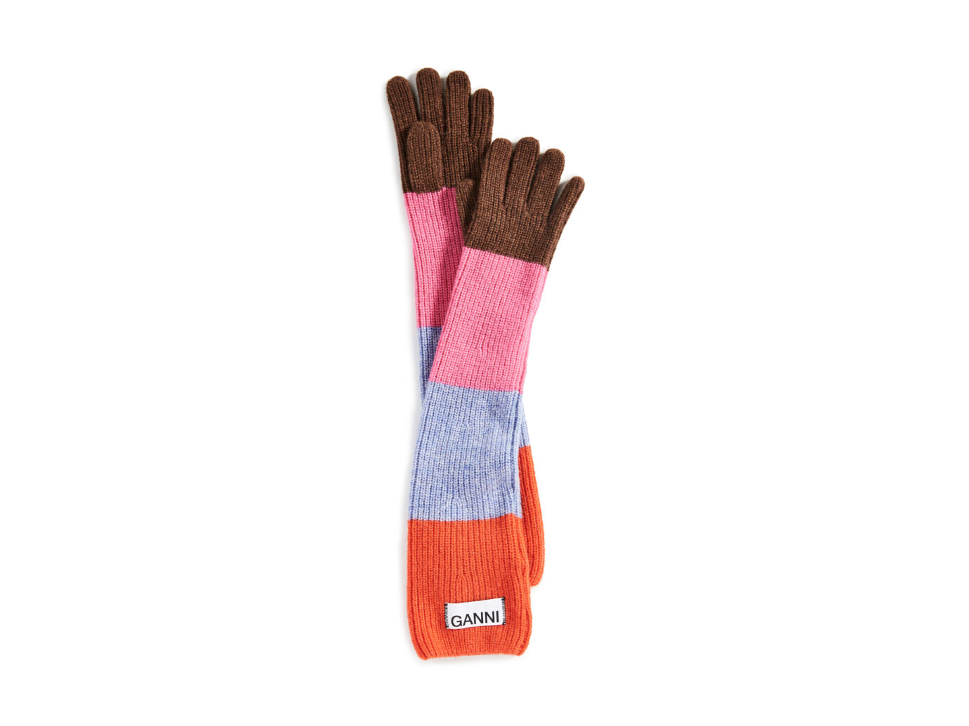 Ganni Knit Gloves