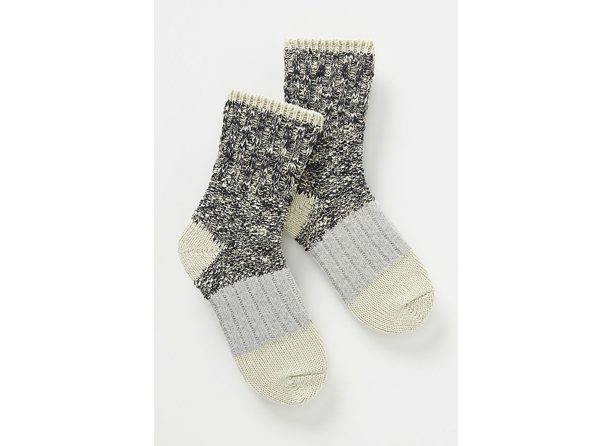 Hansel From Basel Marled Crew Socks