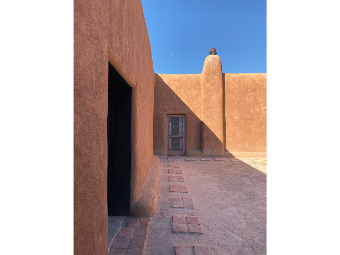 Georgia O'Keeffe's home in Abiquiu, New Mexico