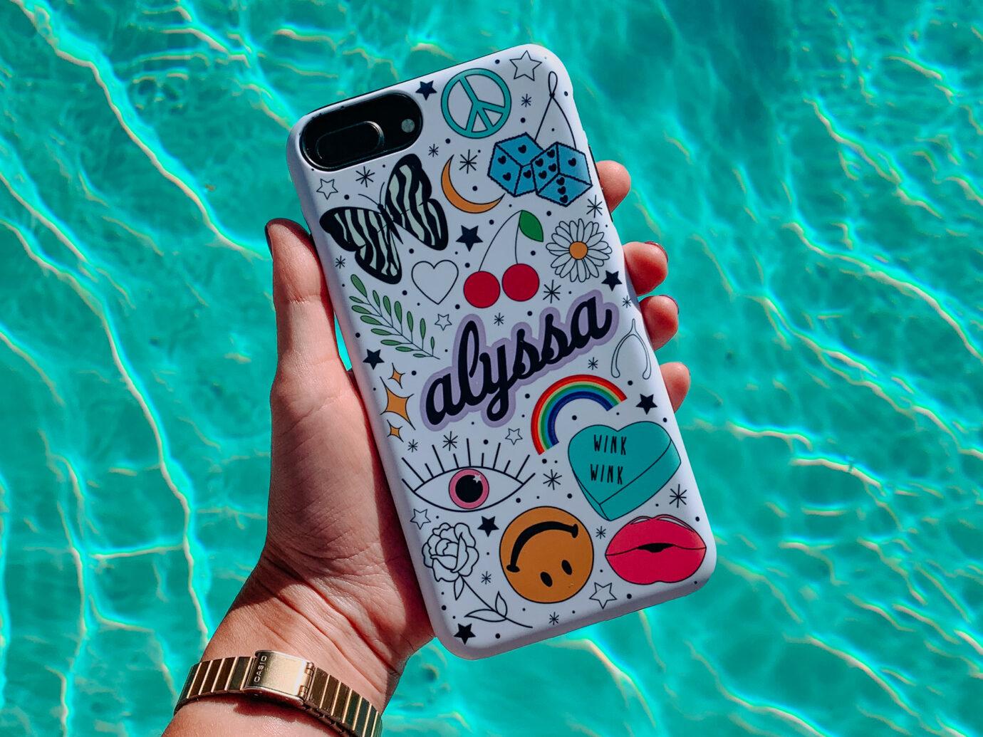 Alyssa Pangione Custom Phone Case