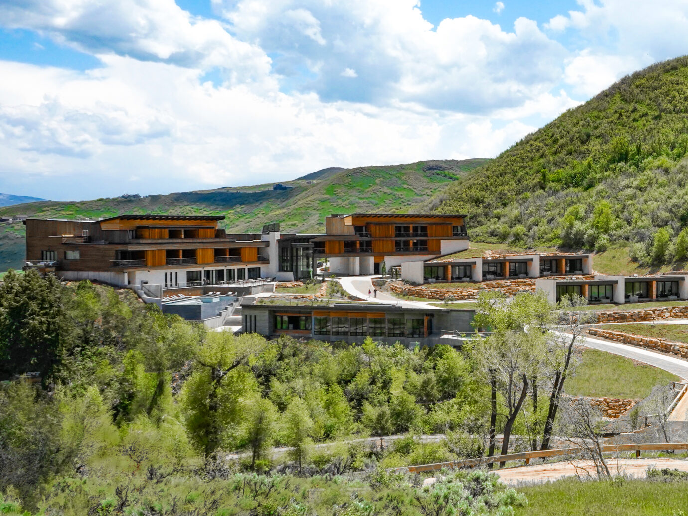 Exterior of Lodge at Blue Sky, Utah