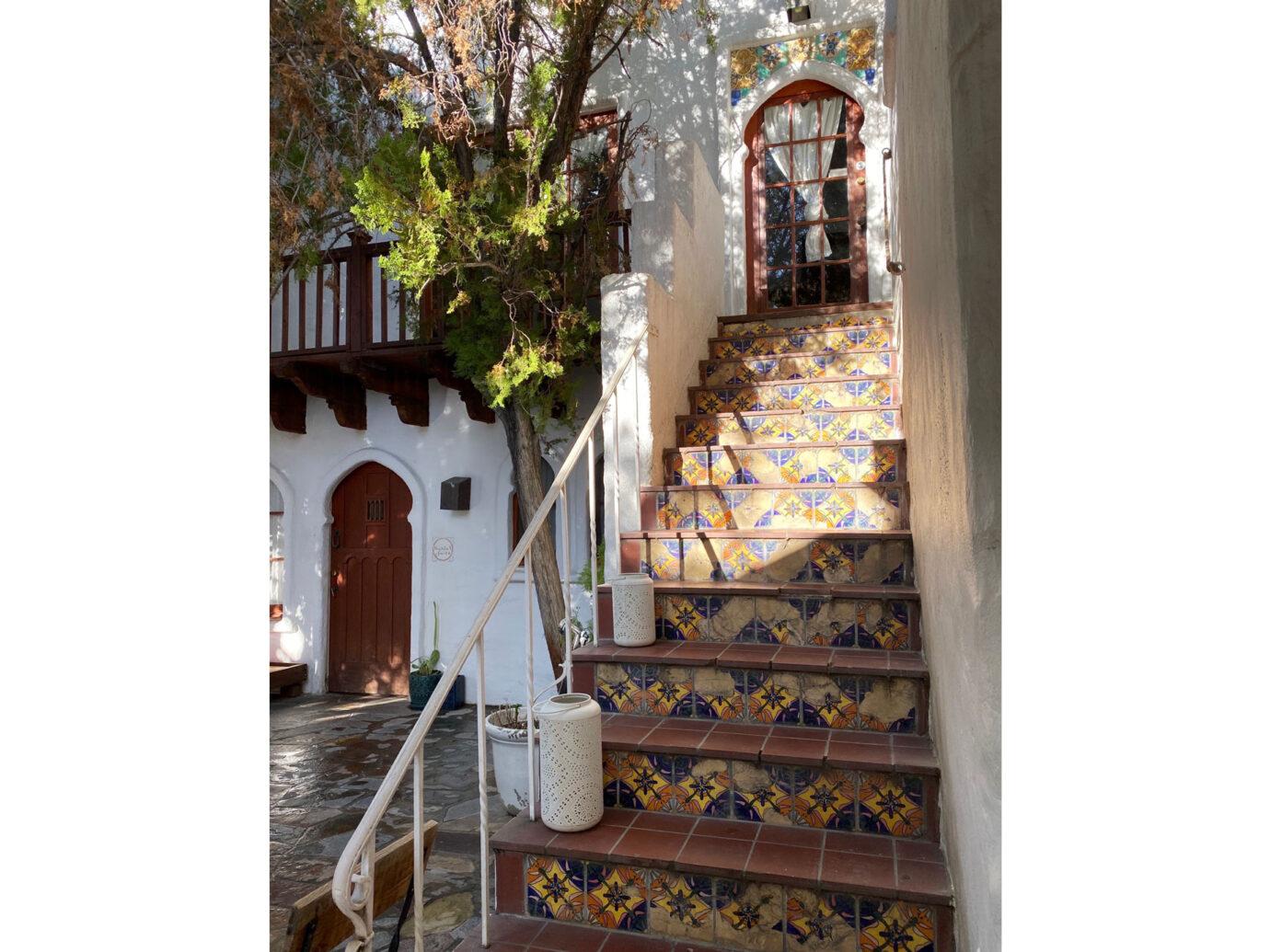 Korakia Pensione Staircase