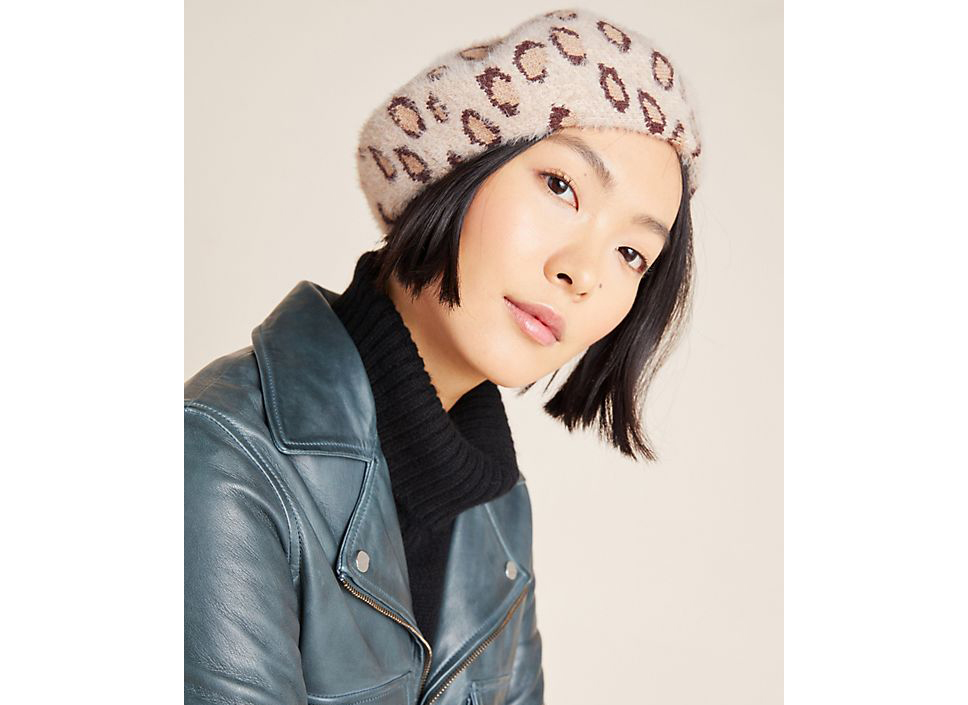 Anthropologie Elsie Beret