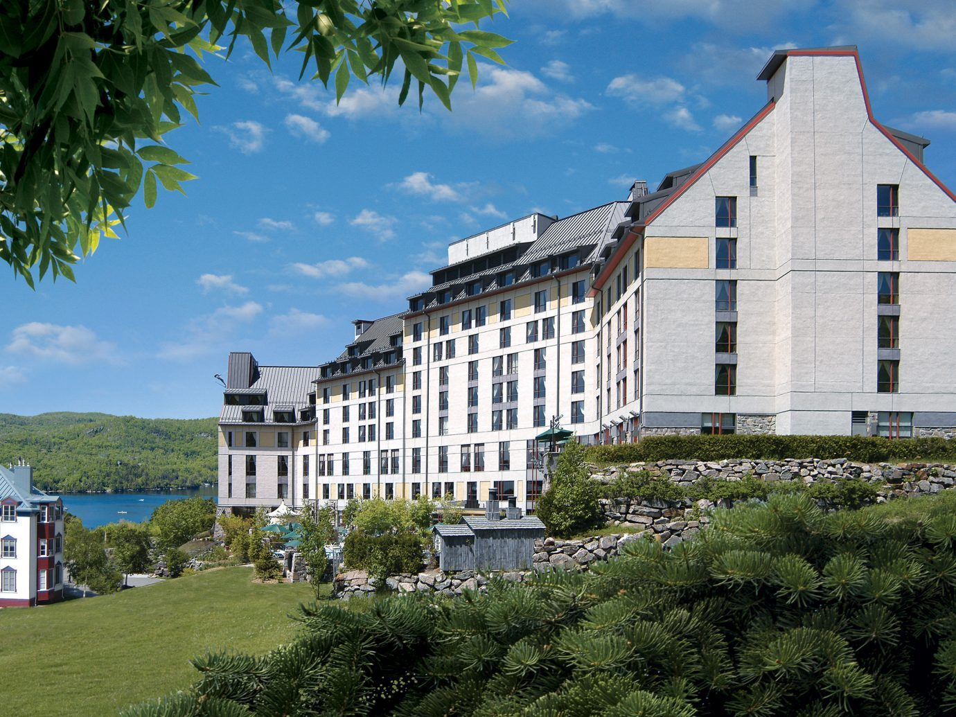 Exterior of the Fairmont Tremblant, Mont-Tremblant, QC