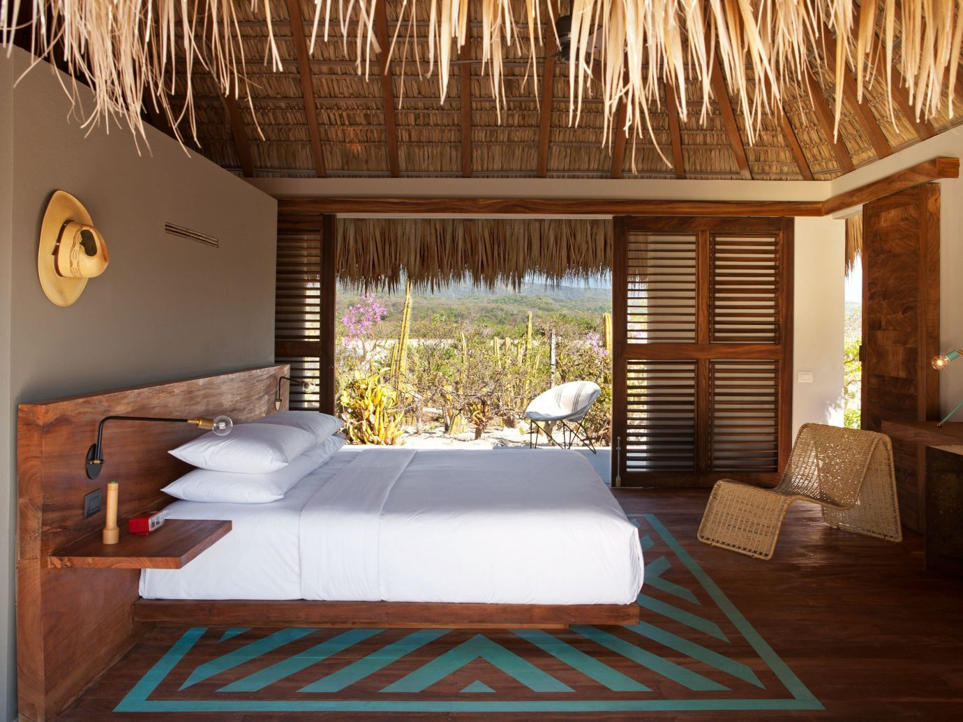 Bedroom at Hotel Escondido, Puerto Escondido