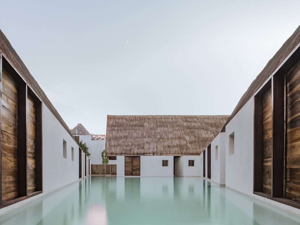 Pool at Punta Caliza, Isla Holbox