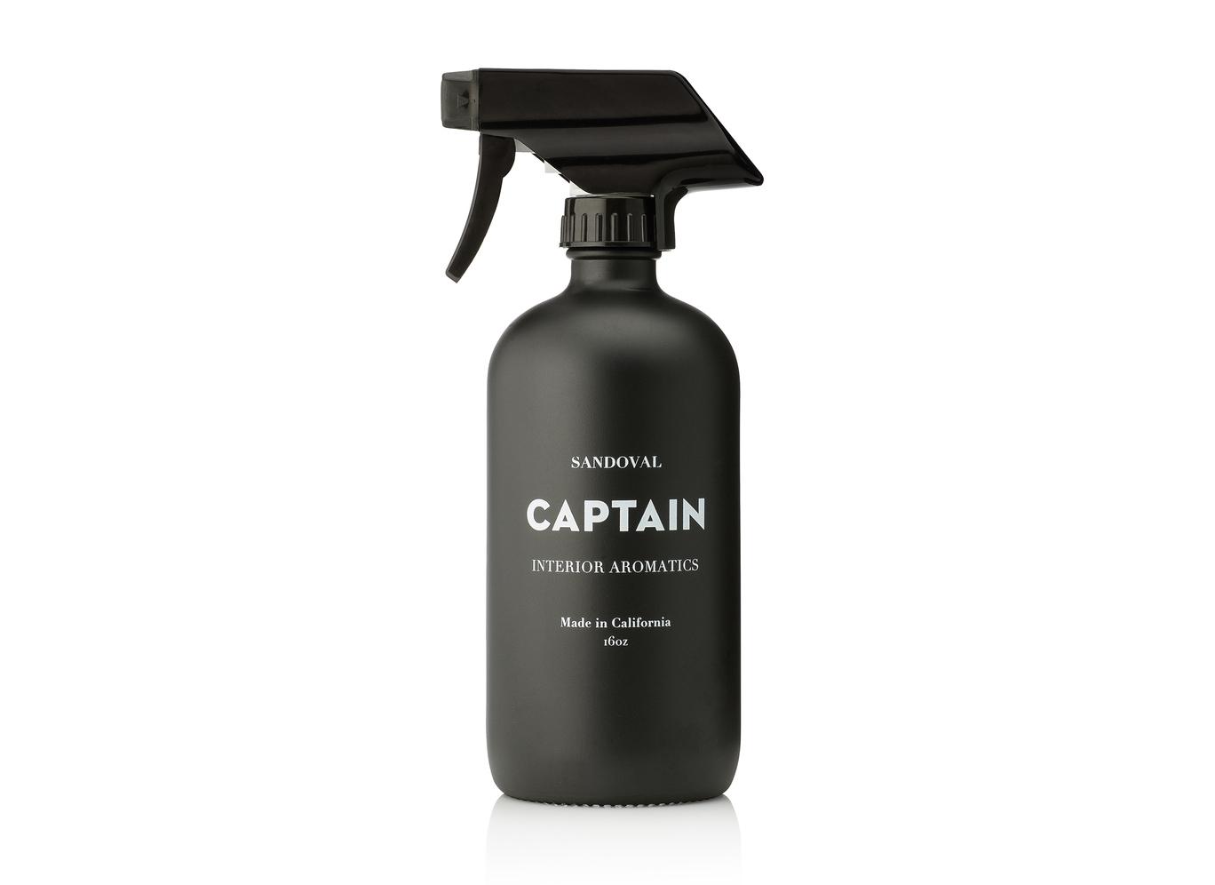 Room spray: Sandoval Interior Aromatic in Captain