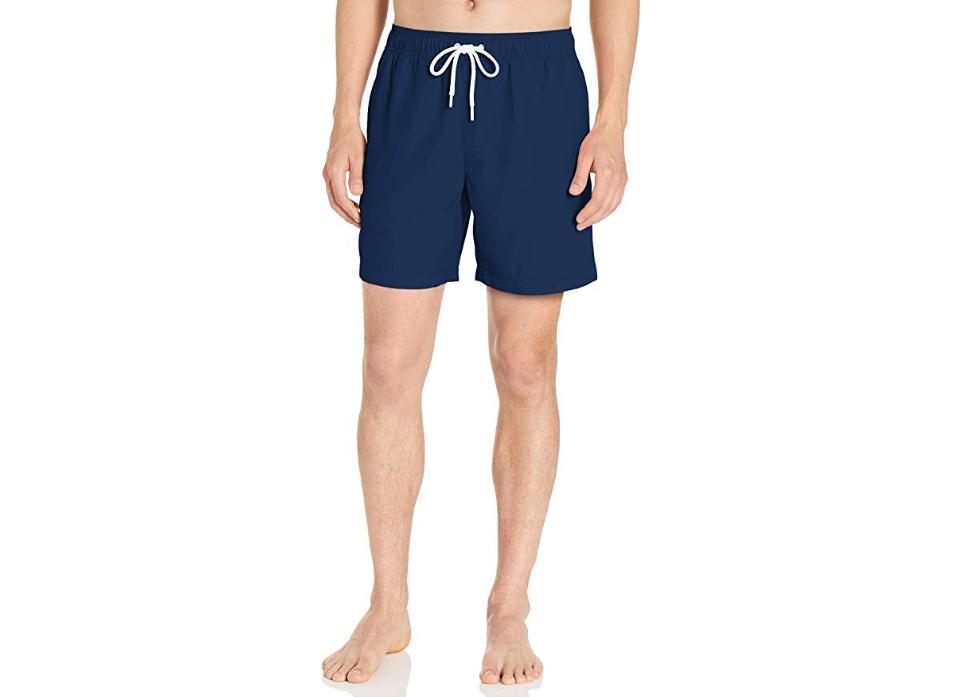 Amazon Essentials Men's Quick-Dry 9 Swim Trunk