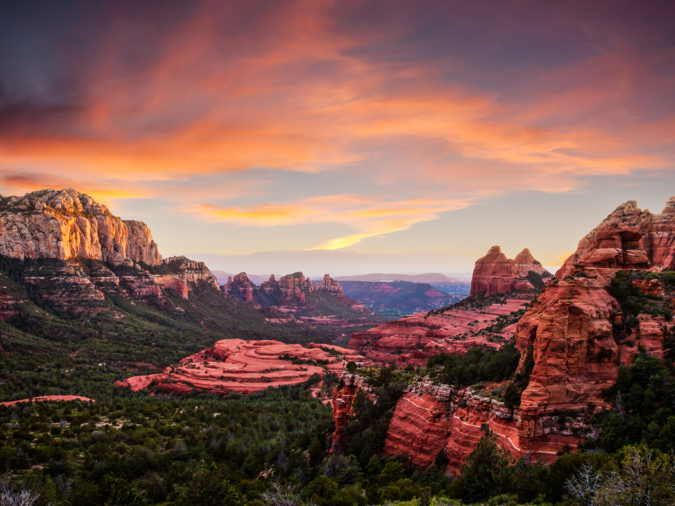 Red Rocks Sunset in Sedona Arizona