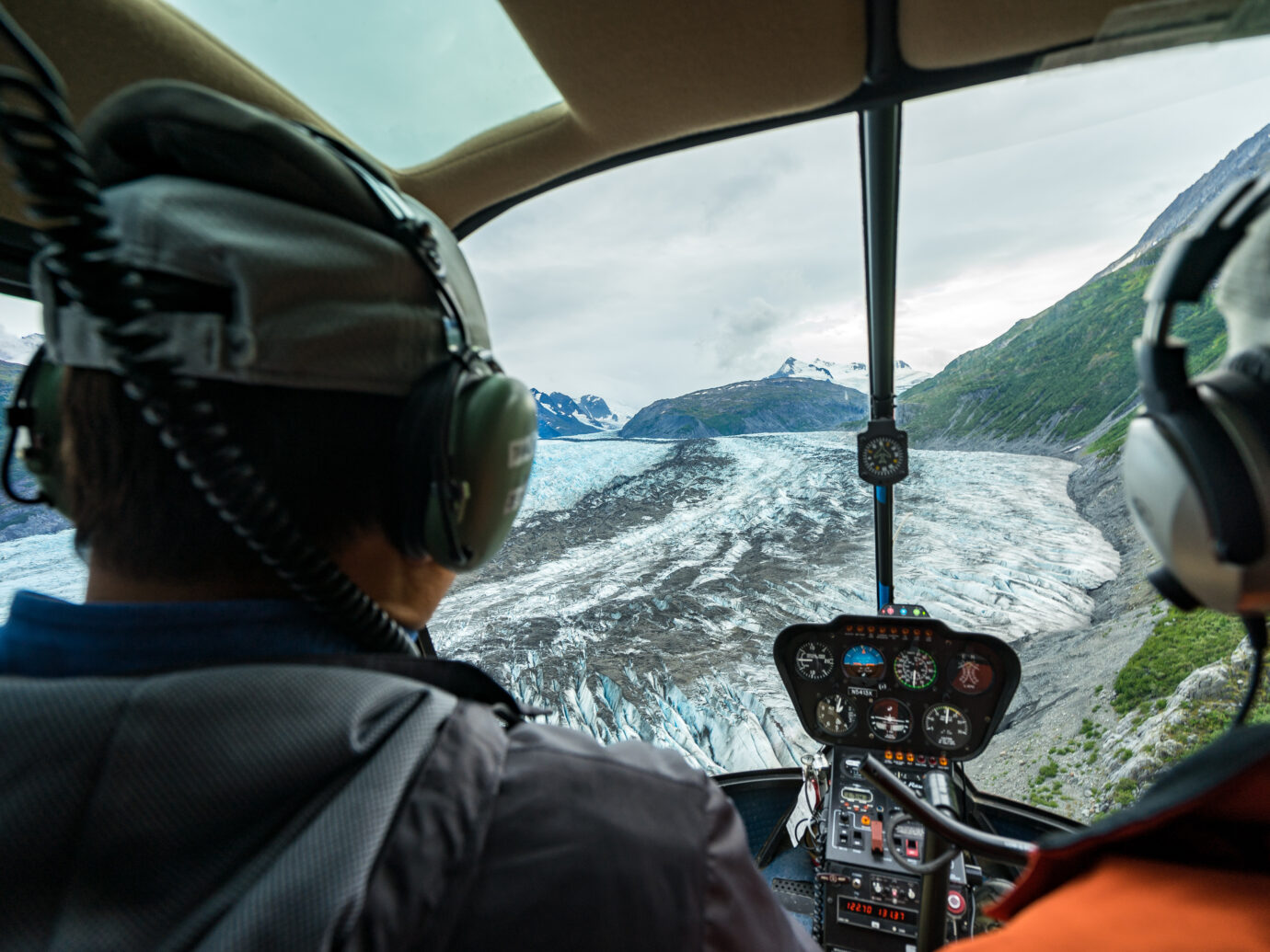 Helicopter Tour over Anchorage Alaska