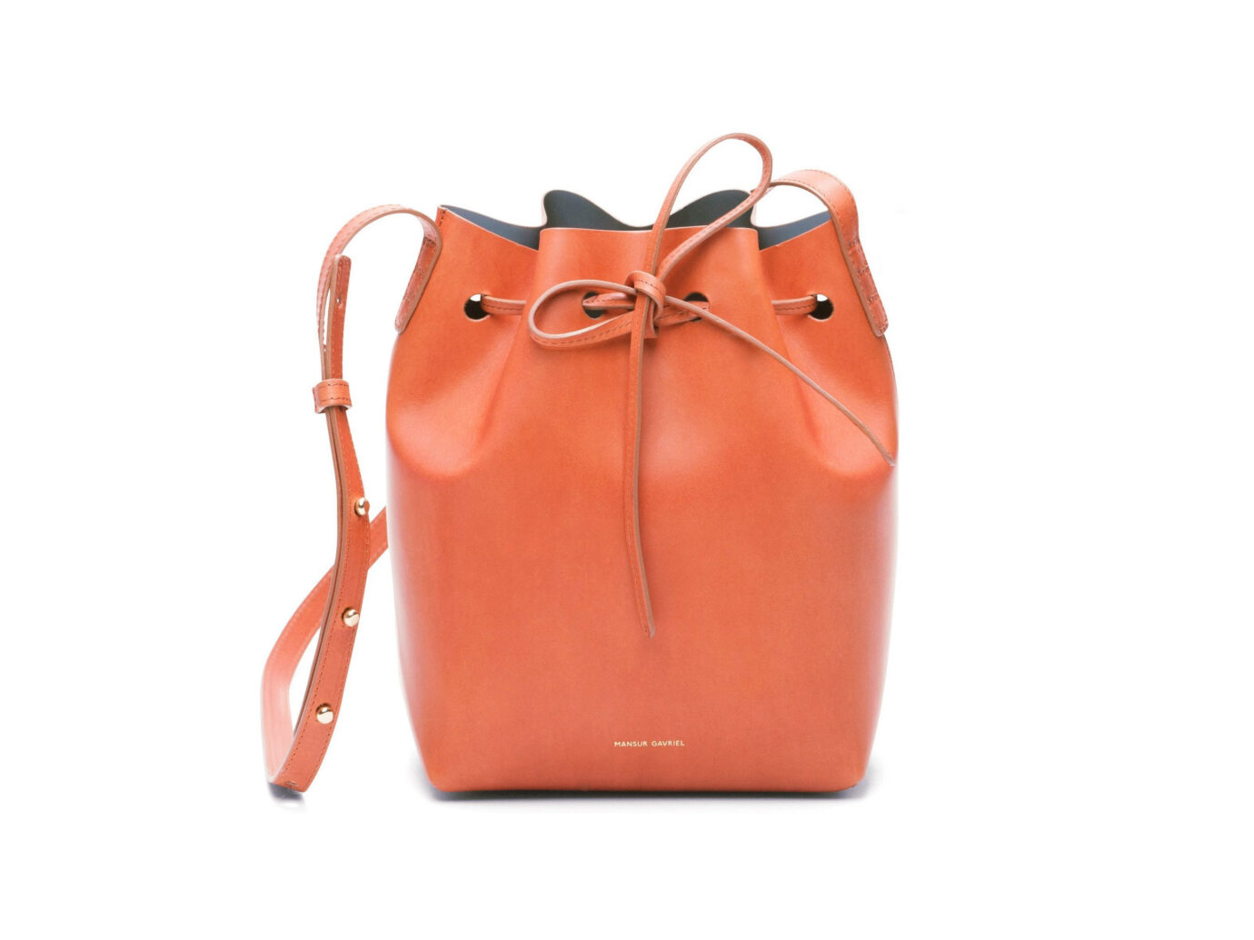 Mansur Gavriel Brandy Mini Bucket Bag