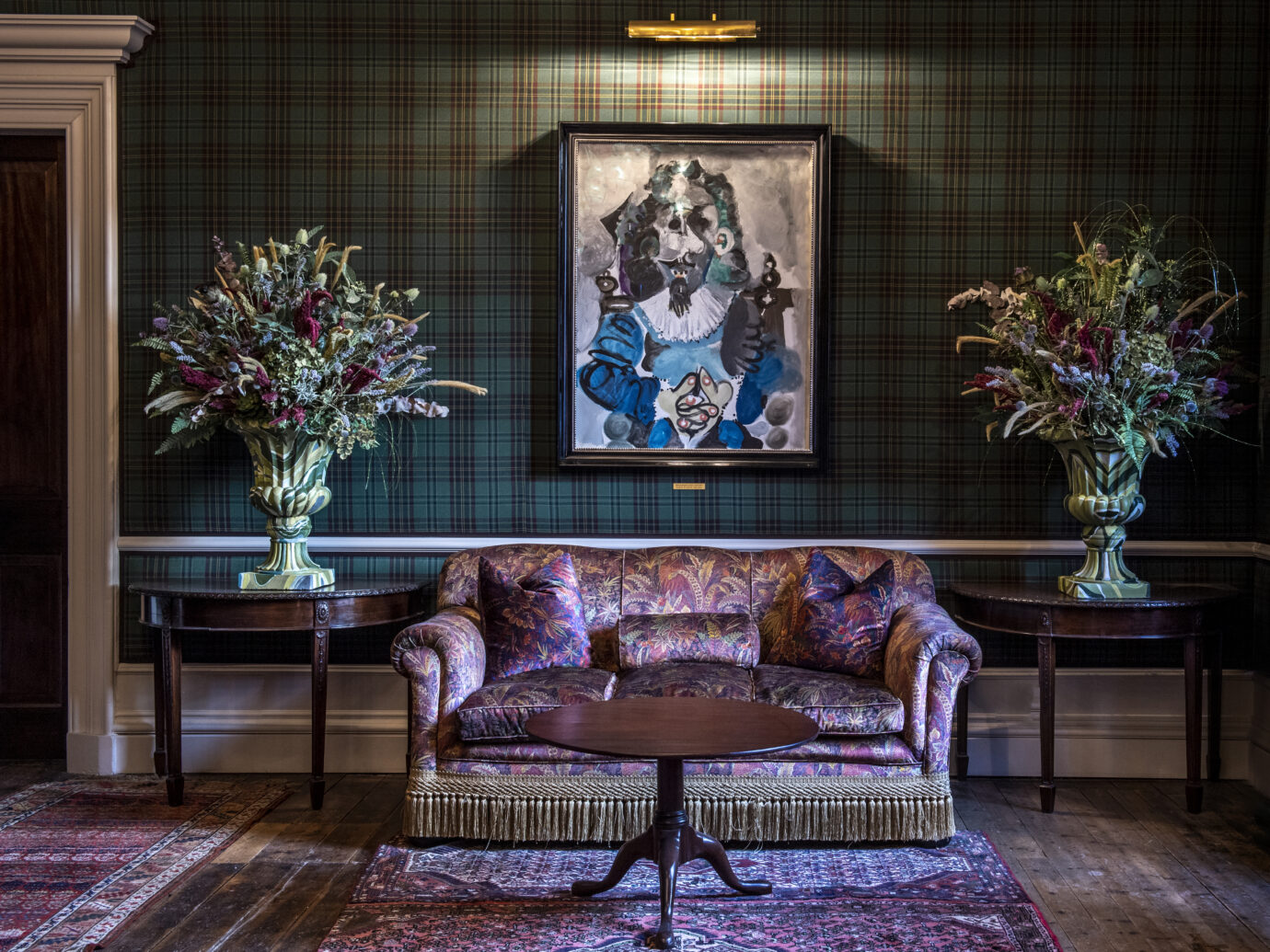 Lounge at The Fife Arms hotel