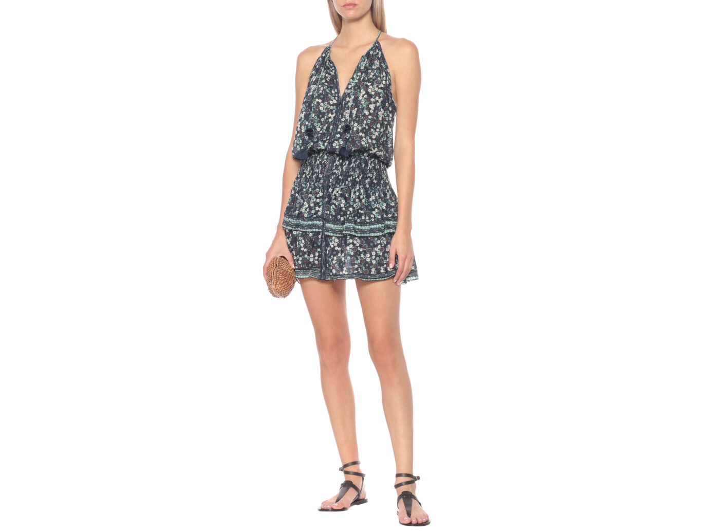 Poupette St Barth Kimi Floral Mini Dress