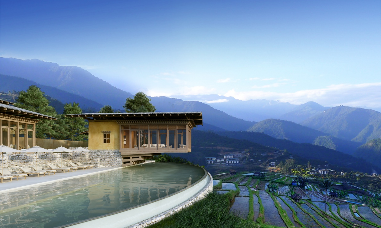 Six Senses Bhutan Pool