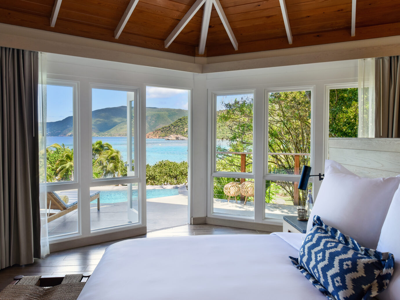 Bedroom at Rosewood Little Dix Bay