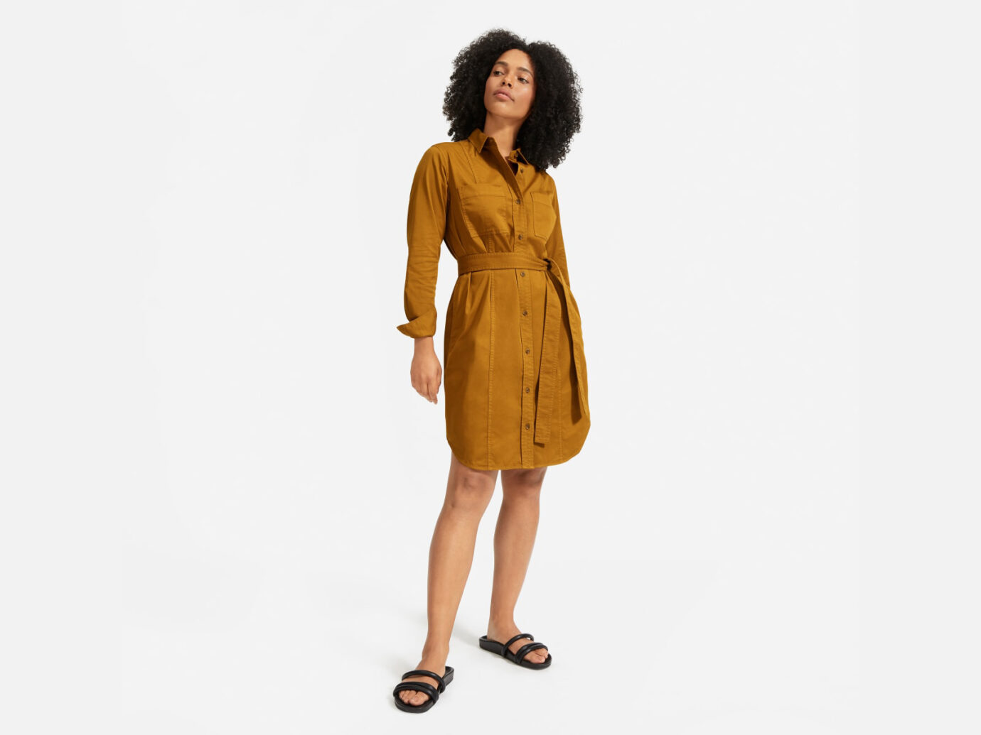 The Modern Utility Shirtdress