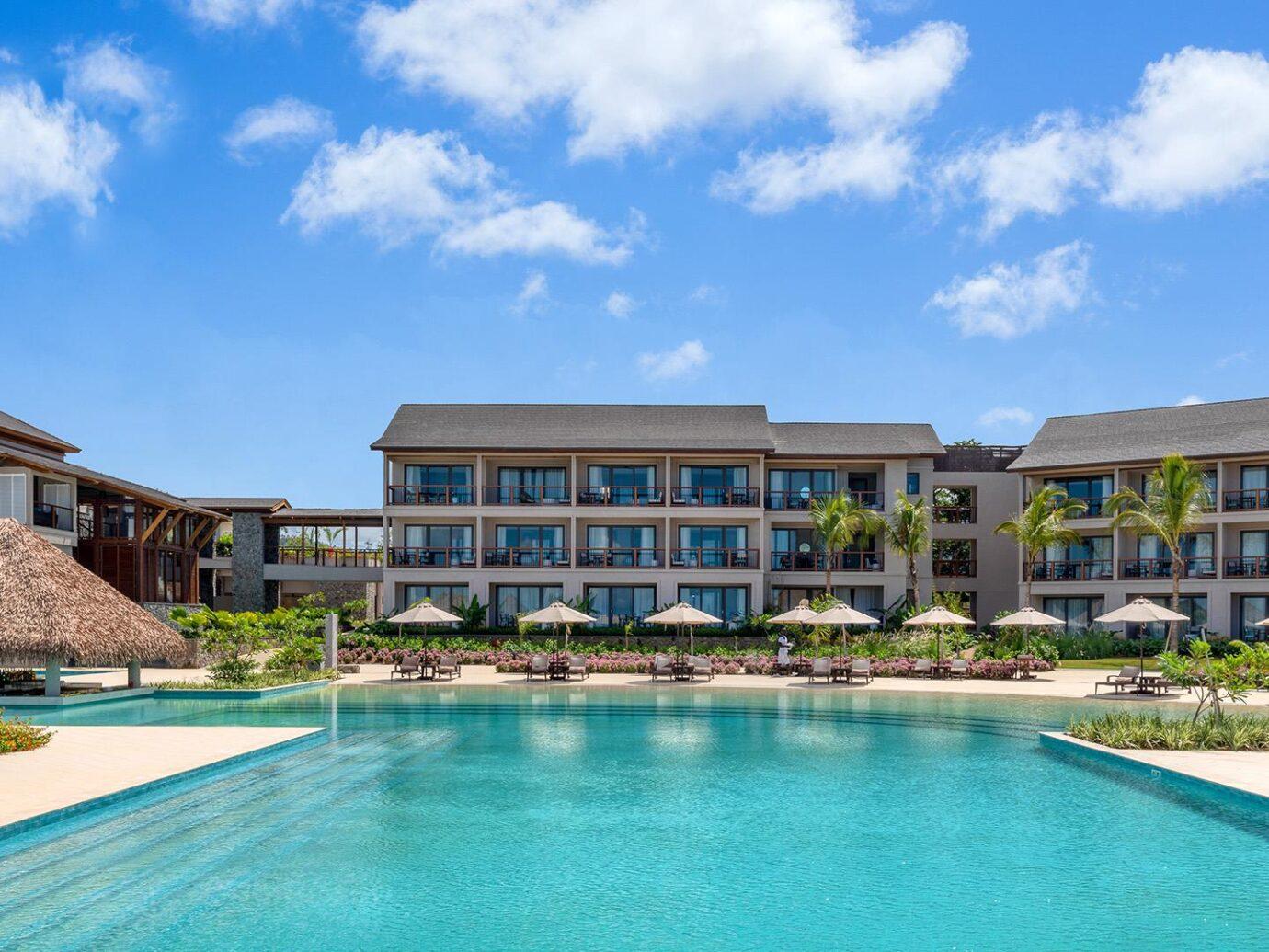 Pool at Cabrits Resort & Spa Kempinski