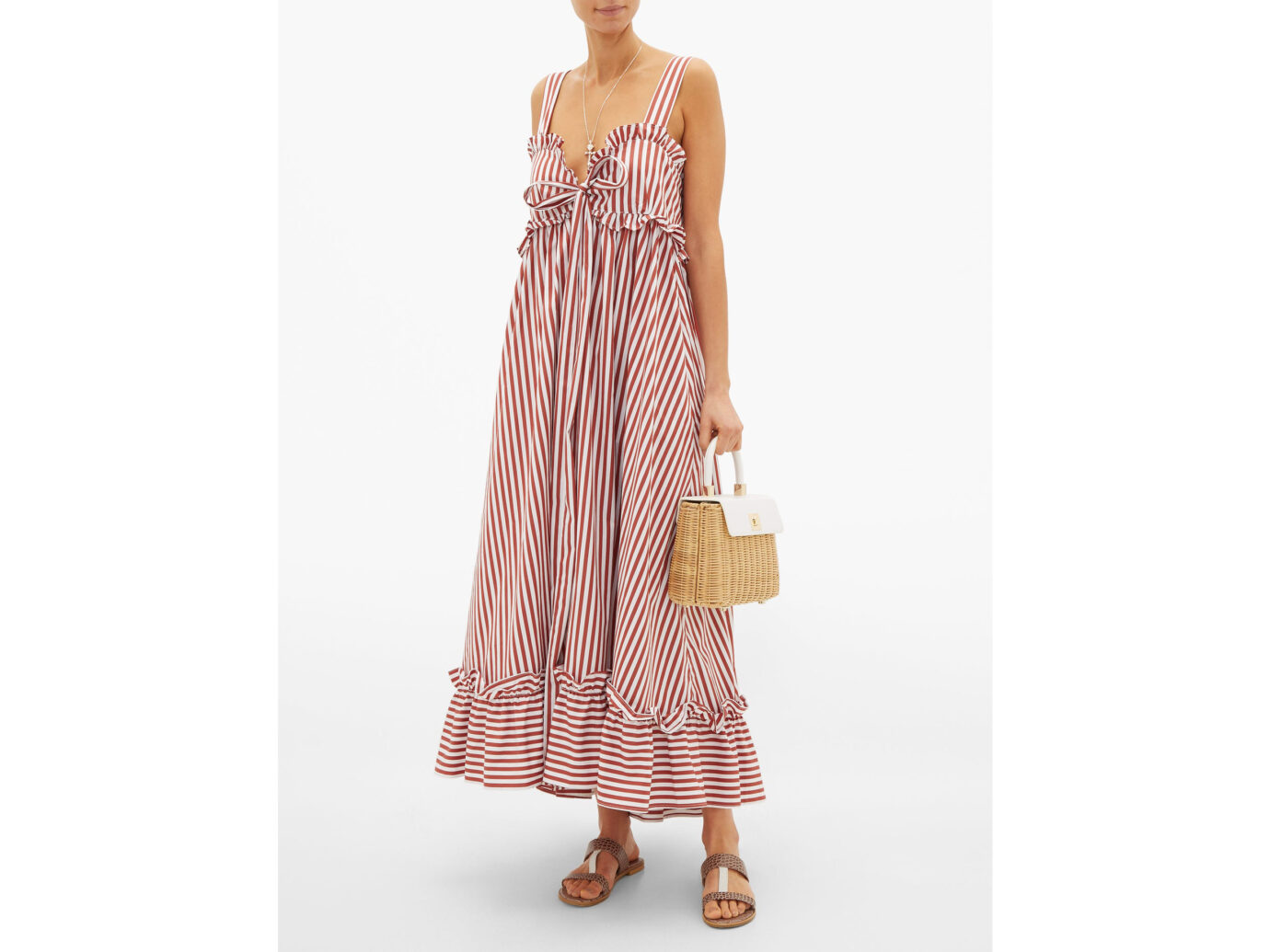 Thierry Colson Valentina Maxi Dress