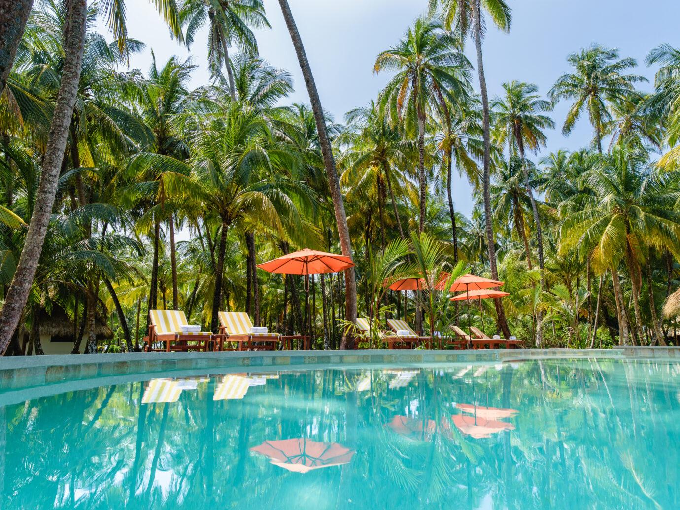 Pool at Calala Island, Nicaragua