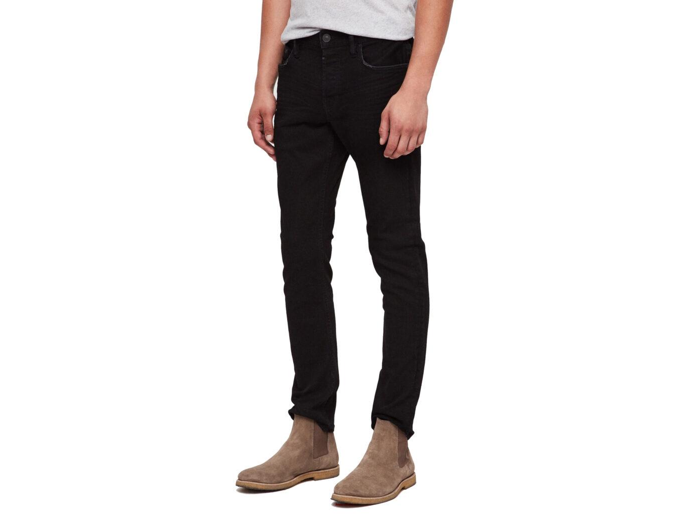 ALLSAINTS Rex Slim Fit Stretch Straight Leg Jeans