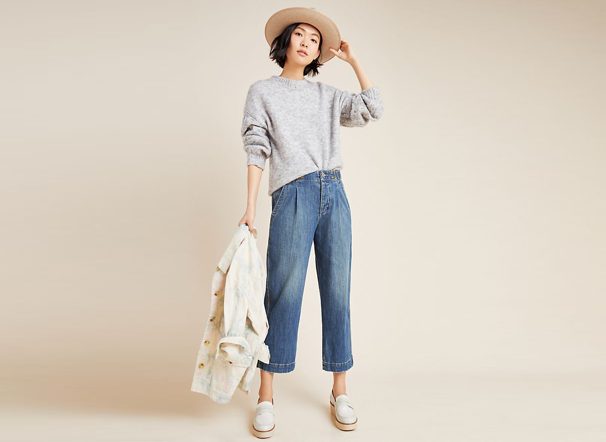 Pilcro Ultra High-Rise Relaxed Jeans