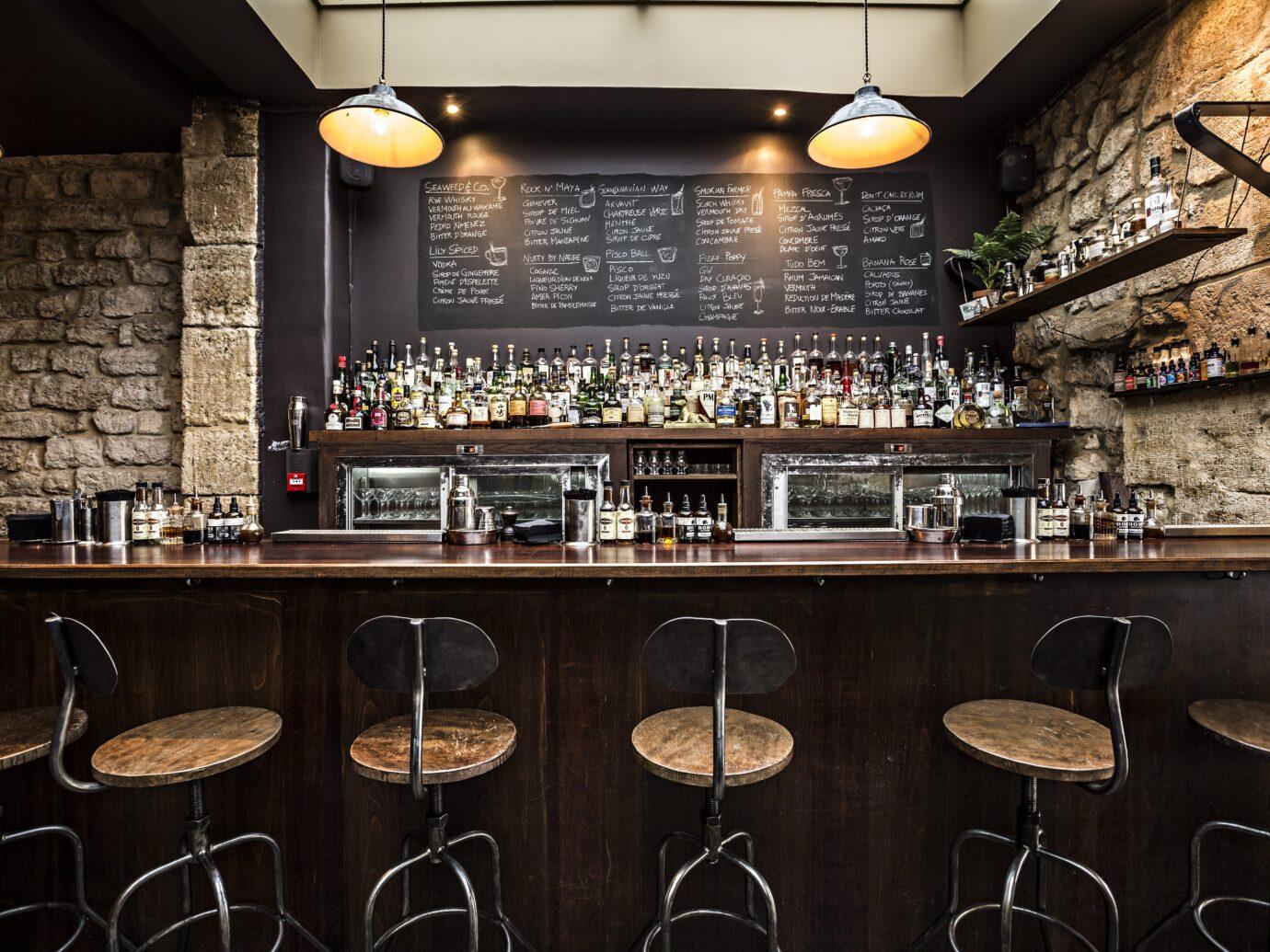 Sherry Butt bar in Paris France