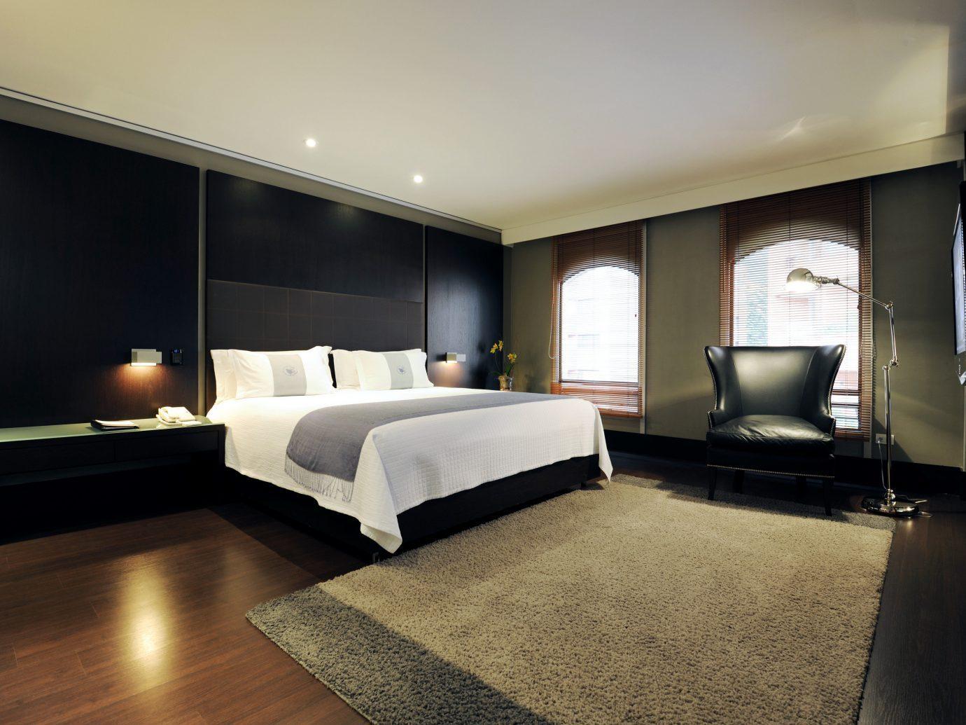 Bedroom at the Four Seasons Hotel Bogota