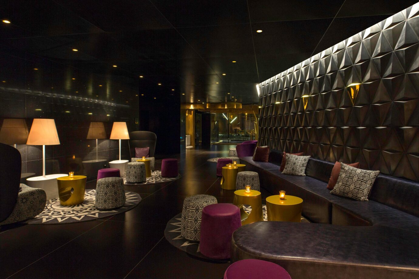Lobby at the W Bogota