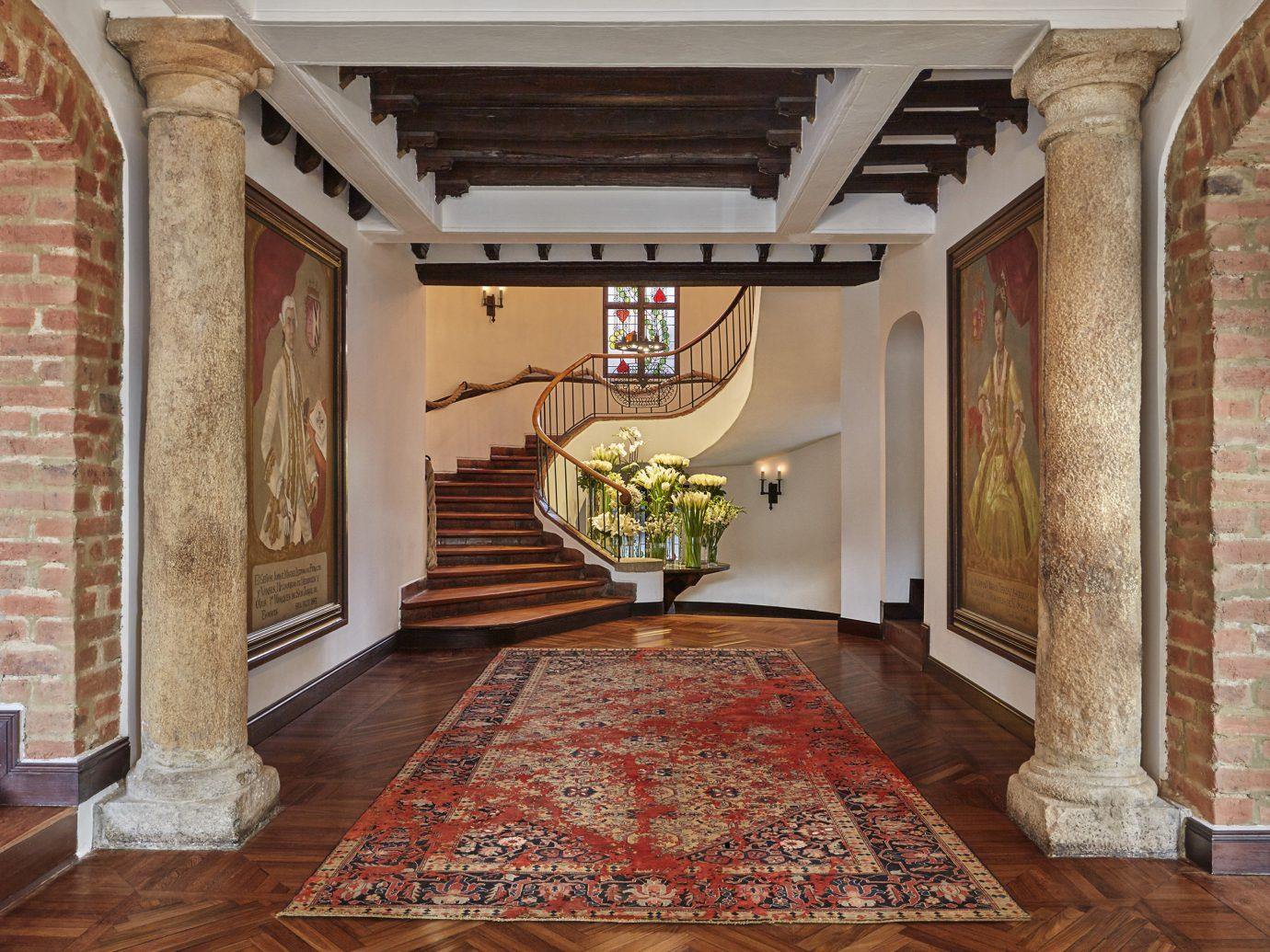 Interior of Four Seasons Hotel Casa Medina