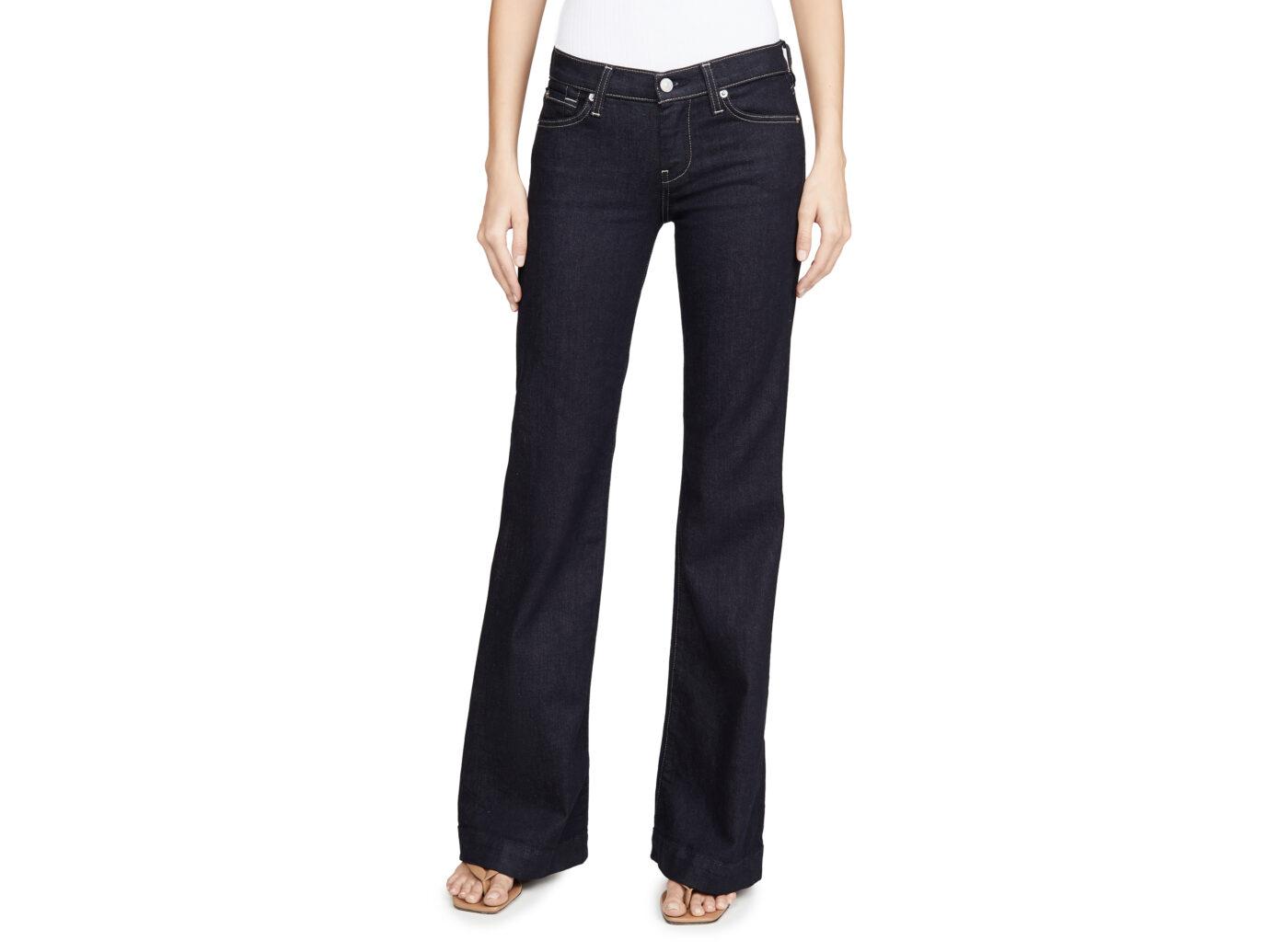 7 For All Mankind Women's Dojo Bootcut Jeans