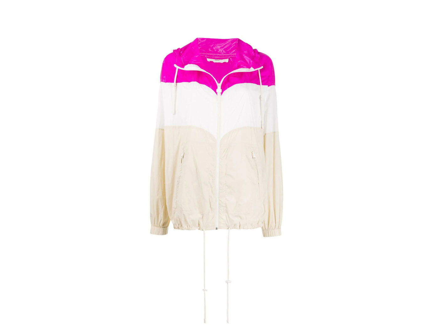 Isabel Marant Étoile Colour Blocked Rain Jacket